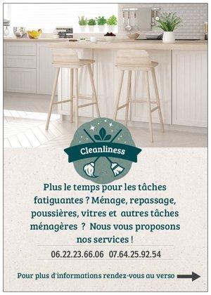 Cleanliness, ménage à Poitiers